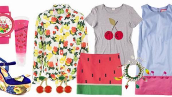 Letnie stylizacje – modowy koktajl owocowy