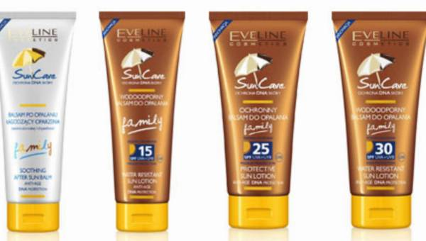 Bezpieczne opalanie dla całej rodziny – kosmetyki SUN CARE Family od Eveline Cosmetics