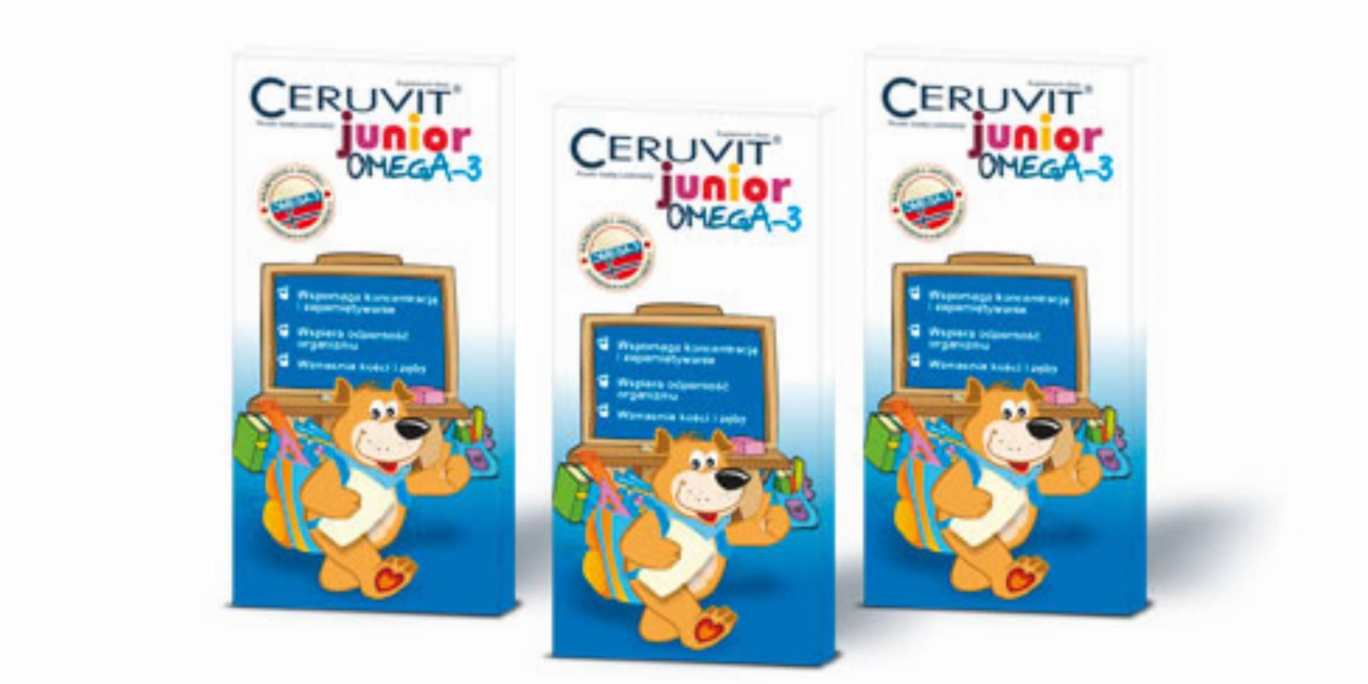 Ceruvit Junior Omega-3