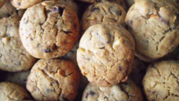 Wasze przepisy: Kruche ciastka maślane z czekoladą