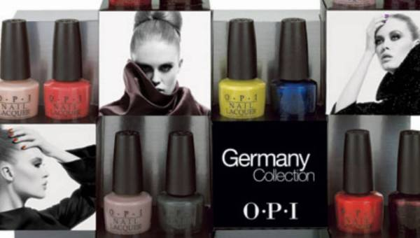 Gotowi na German-icure? Nową kolekcja lakierów Germany by O.P.I na sezon jesień-zima 2012/2013