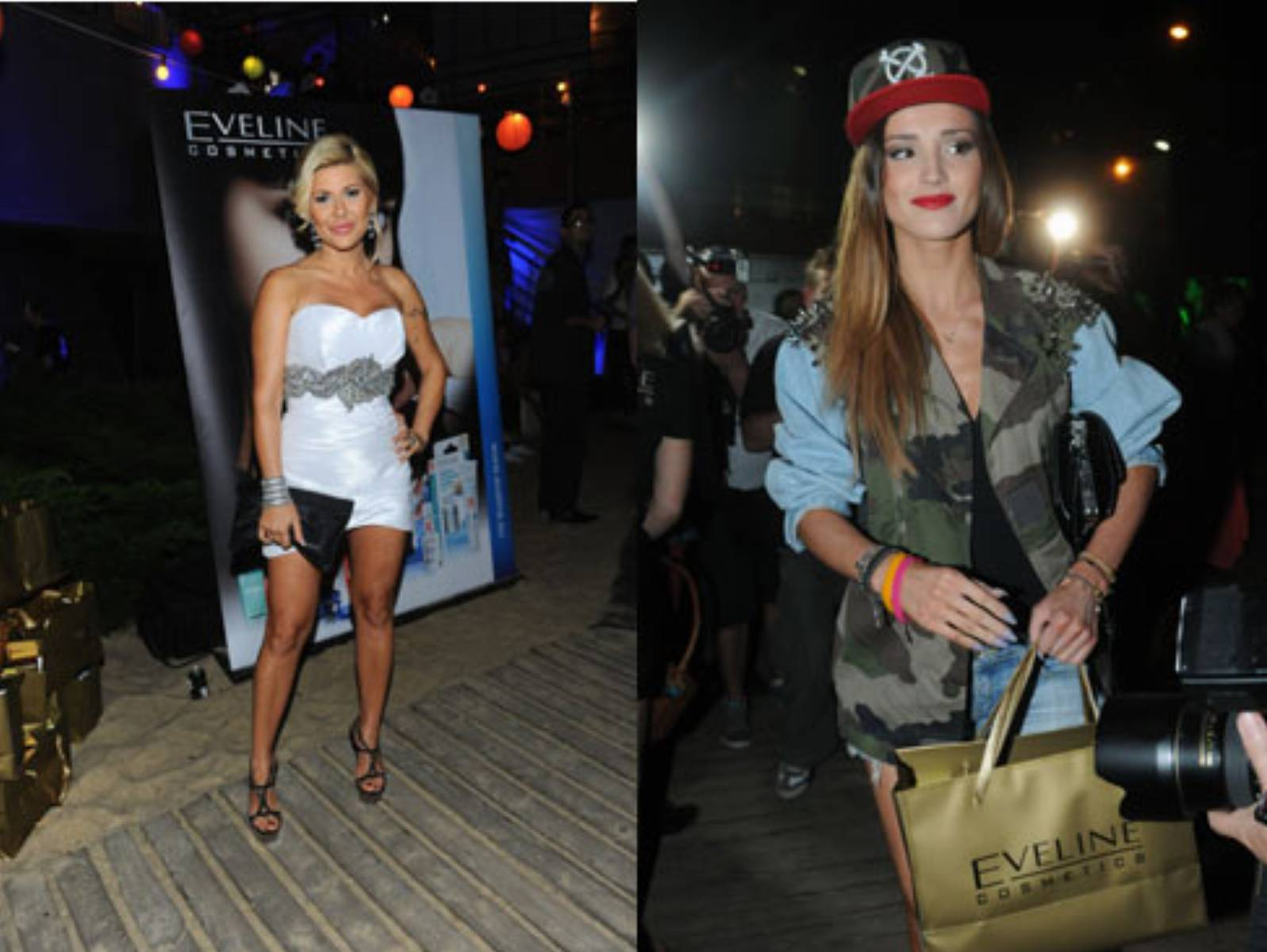 MTV Pożegnanie Lata 2012 - Iwona Węgrowska & Marina Łuczenko