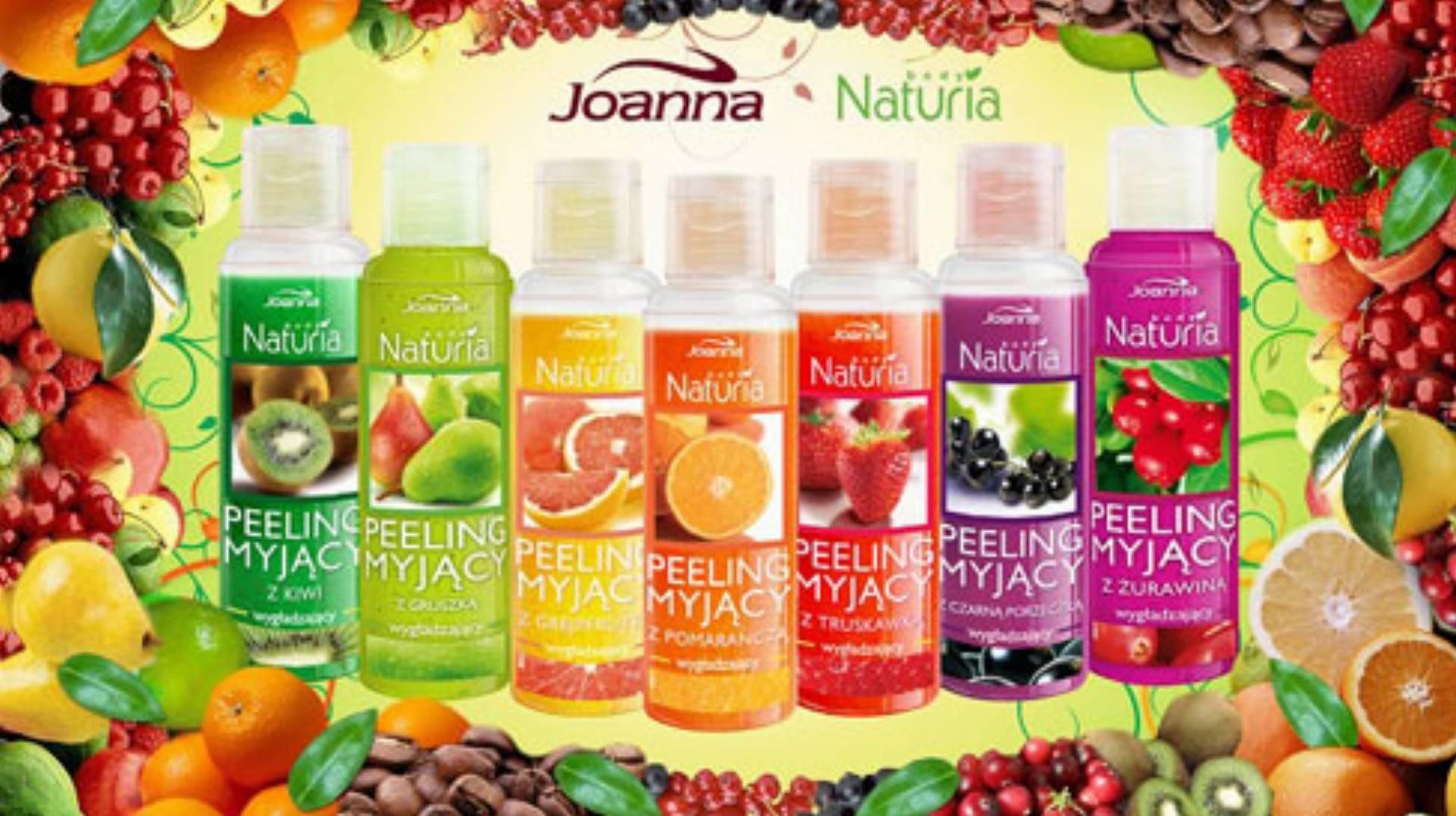 Naturia Body od Joanny - peelingi