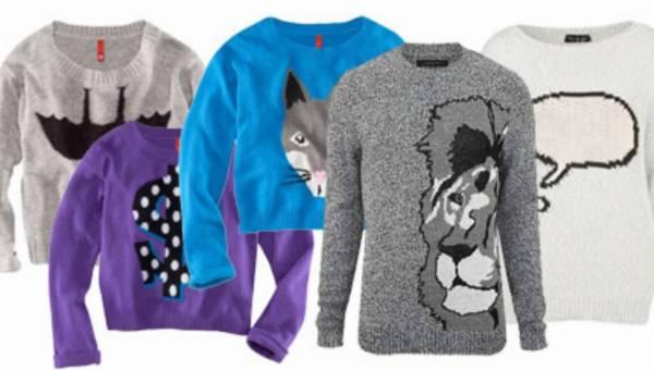 Swetry z nadrukami – stylizacja
