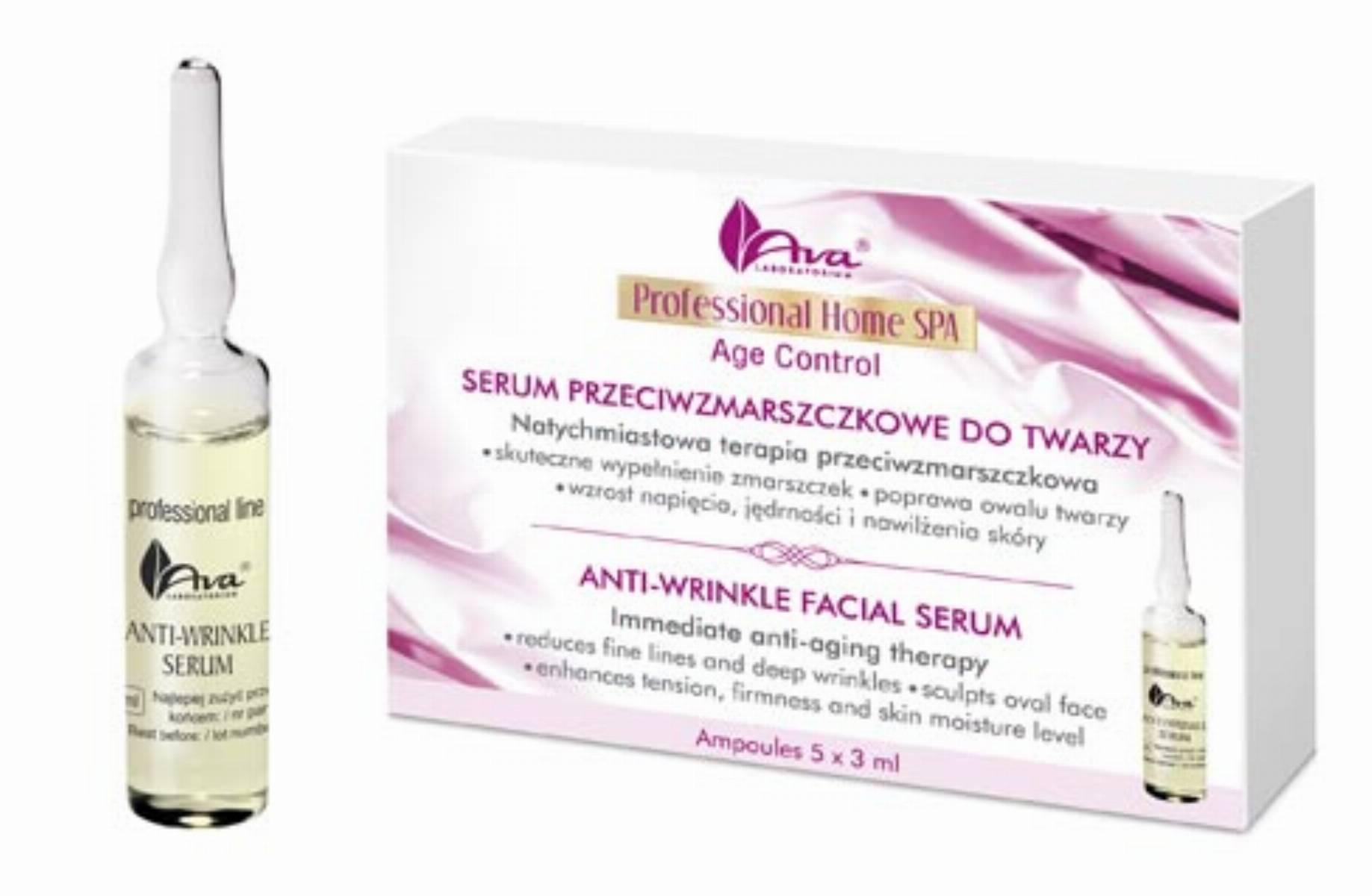 Ava - Serum z przeciwzmarszczkowe Professional Home SPA