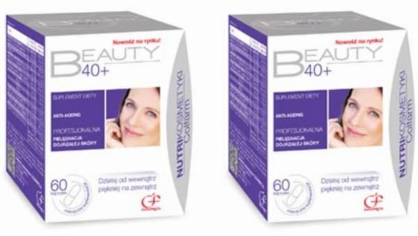Beauty 40+ – pielęgnuje cerę dojrzałą i poprawia kondycję tkanek