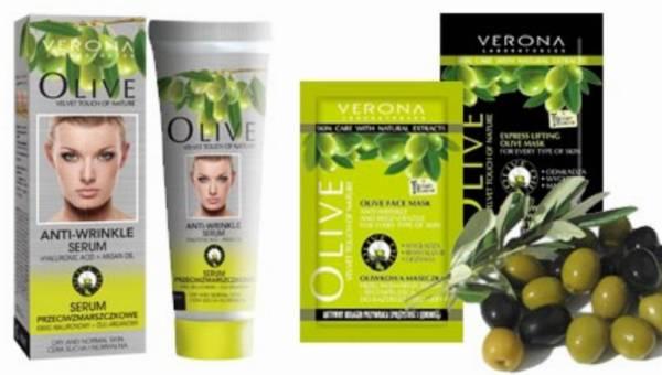 Oliwkowe nowości do twarzy od Verona Products Professional