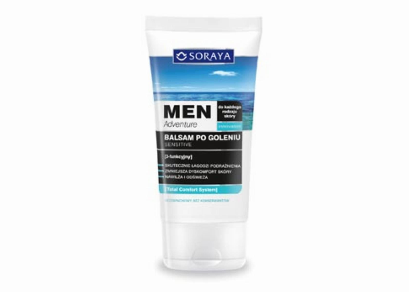 Soraya Men Adventure Balsam po goleniu Sensitive