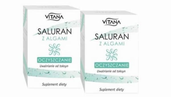 Saluran z algami z linii Vitana – naturalne oczyszczanie organizmu z toksyn!