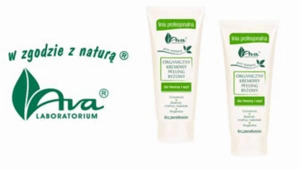 Nowatorski organiczny kremowy peeling ryżowy do twarzy i szyi z serii Pro Natura!