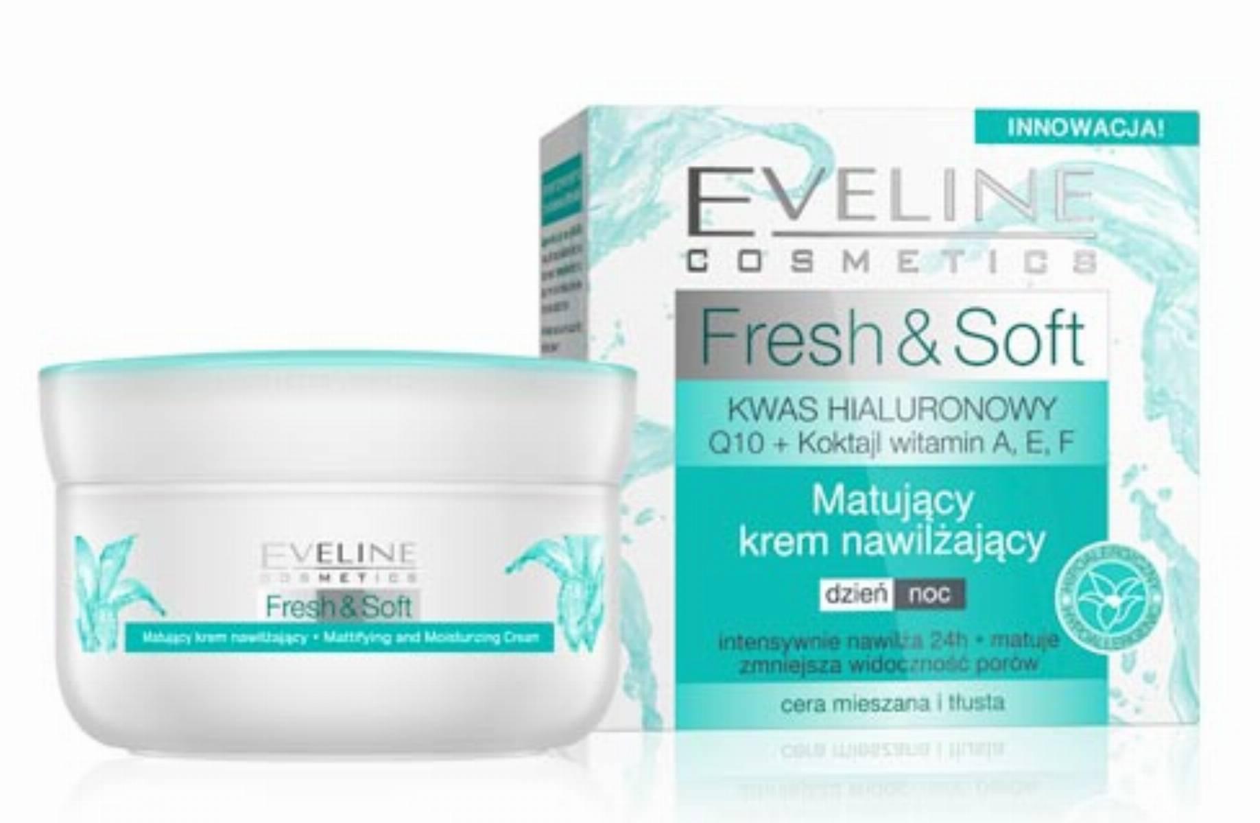 Eveline Fresh & Soft - krem matująco nawilżający