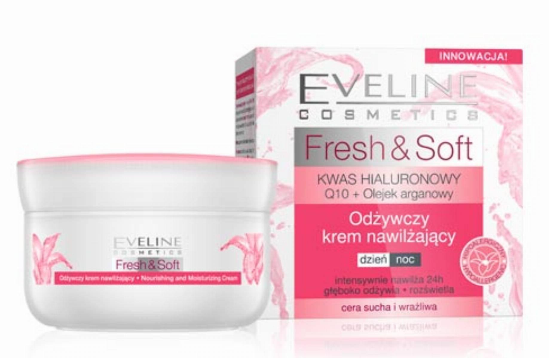 Eveline Fresh & Soft - krem odżywczo nawilżający