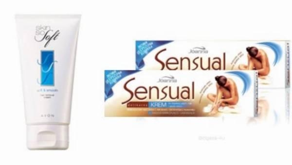 Wasze opinie: Avon Skin So Soft oraz Joanna Sensual Delikatny krem do depilacji
