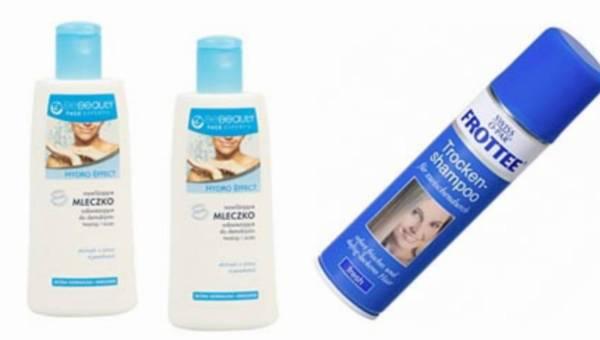 Wasze opinie: mleczko do demakijażu BeBeauty oraz suchy szampon do włosów Swiss O'Par Frottee