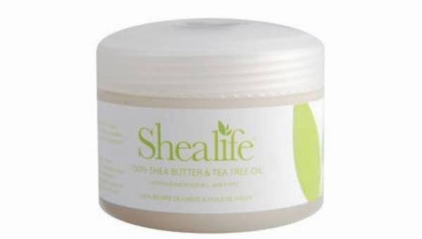 100% Masło Shea z Olejkiem z Drzewa Herbacianego – intensywny balsam do twarzy i ciała, dla wszystkich rodzajów skóry.