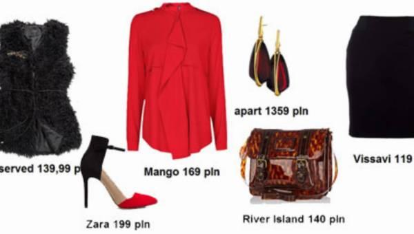 Czerwona koszula… – zobacz z czym ją nosić