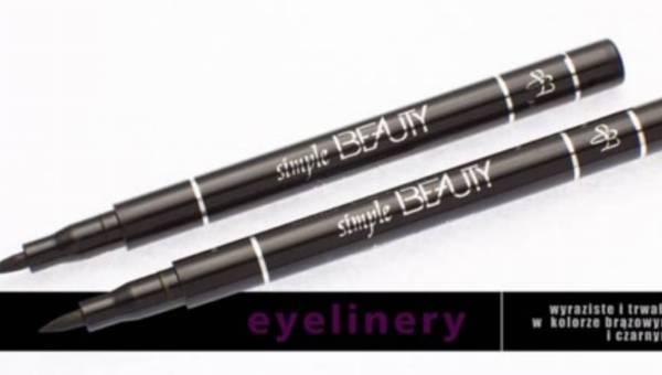 Eyelinery od Simple Beauty, czyli jak namalować kreskę idealną