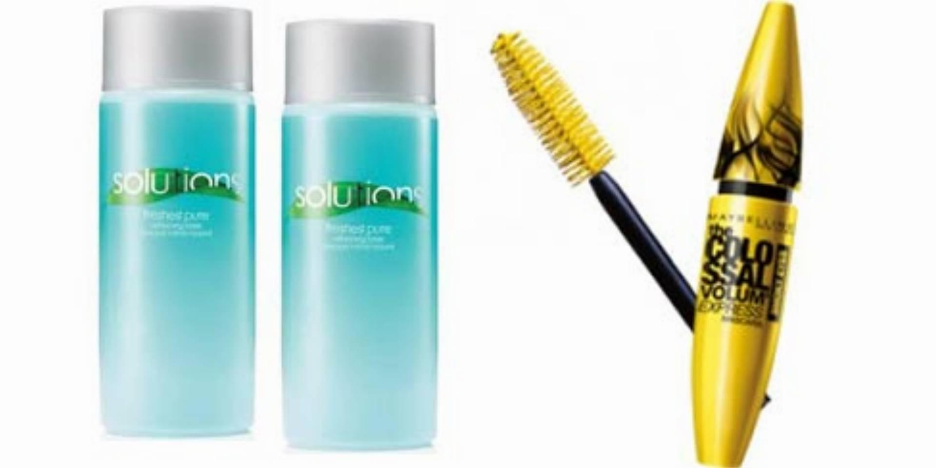 Wasze opinie: Tonik Avon Solutions oraz Maybelline Colossal Volum Express Smoky Eyes