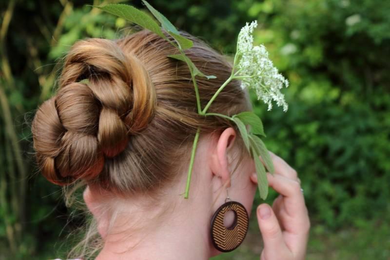 Fantazyjne upięcia włosów