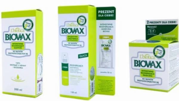 Seria Biovax do przetłuszczających się włosów