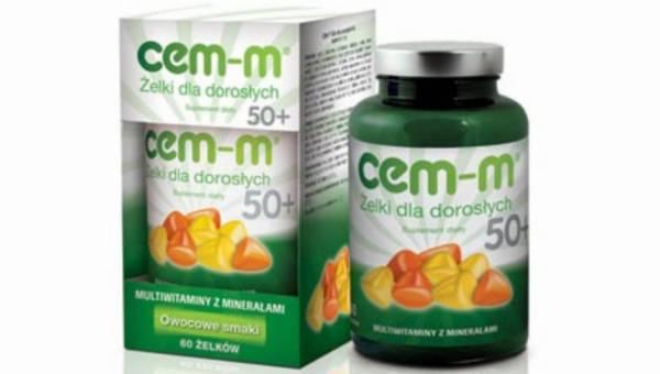 CEM-M Żelki dla dorosłych 50+, czyli przyjemność i zdrowie na 50 z plusem!