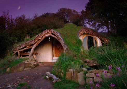 Dom Simona Dale  dom hobbita