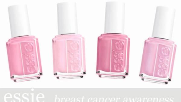 Essie: kolekcja różowych lakierów, które zwracają uwagę na walkę z rakiem piersi