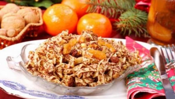 Łazanki na szybko: Słodki deser przy wigilijnym stole