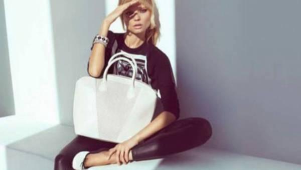Magda Frąckowiak w najnowszym lookbooku H&M wiosna 2013