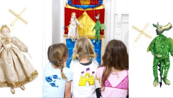Jak zrobić kukiełkę księżniczki i smoka – instrukcja krok po kroku