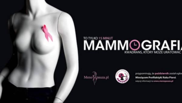 Mammografia – Uratuj swoje życie w 15 minut