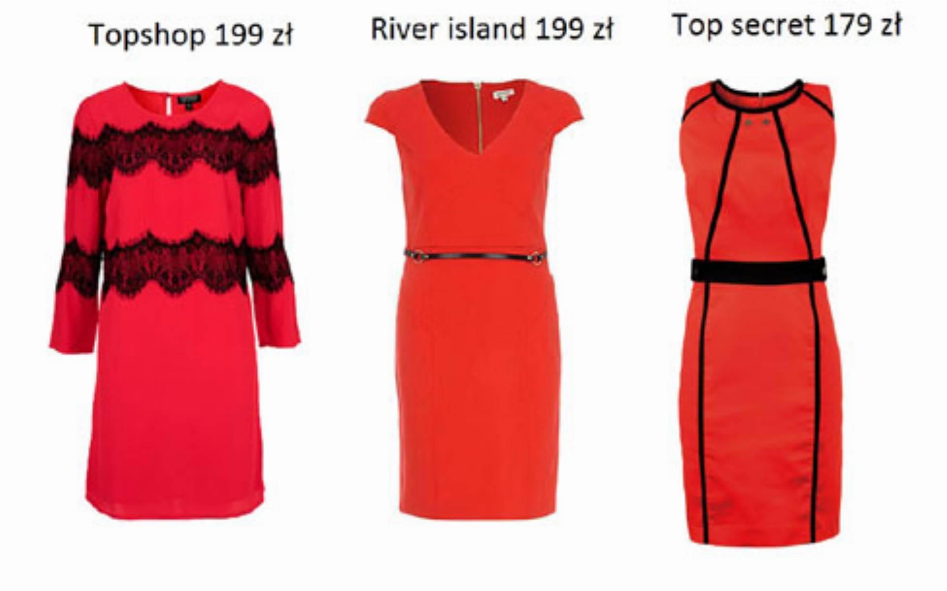 Czerwone sukienki (1)