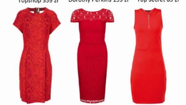 Przegląd ognistych sukienek  – czyli jak się ubrać na Walentynki