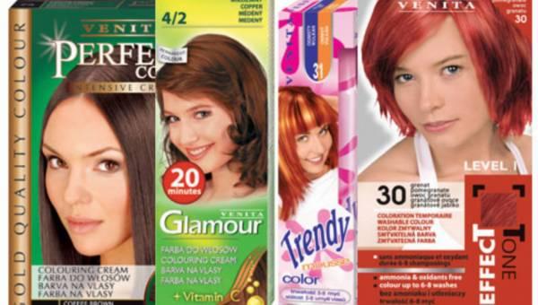 Venita: koloryzacja włosów – kolorowy zawrót głowy