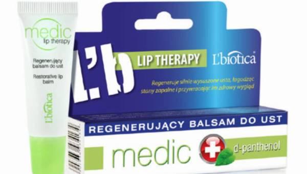 L'biotica MEDIC – Regenerujący Balsam do Ust z mentholem