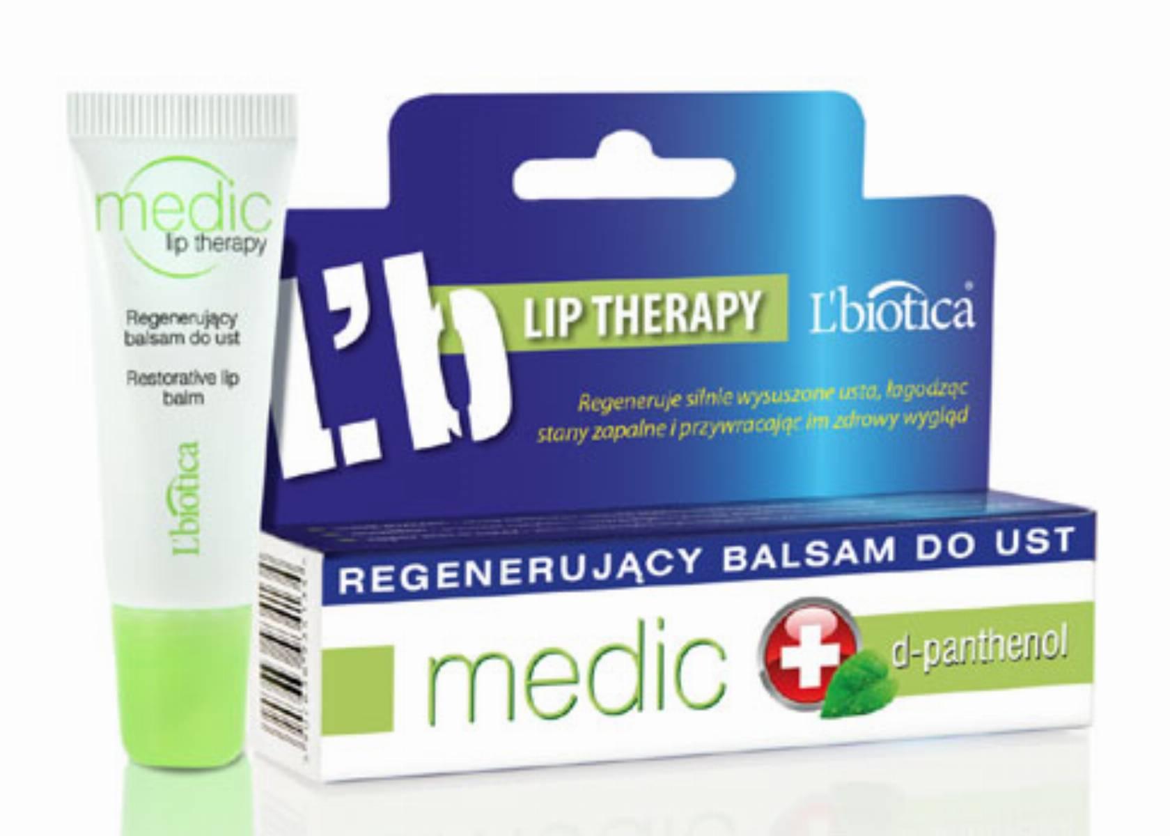 L'biotica MEDIC – Balsam do Ust z mentholem