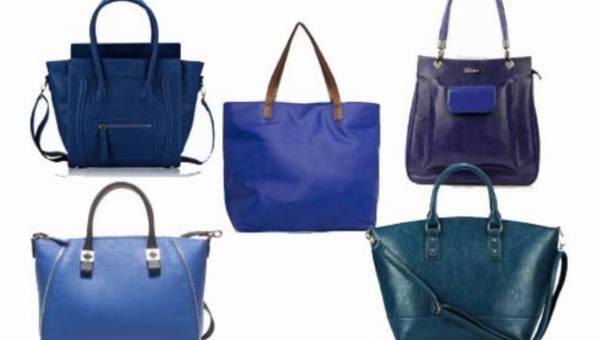Duże torby w wersji blue