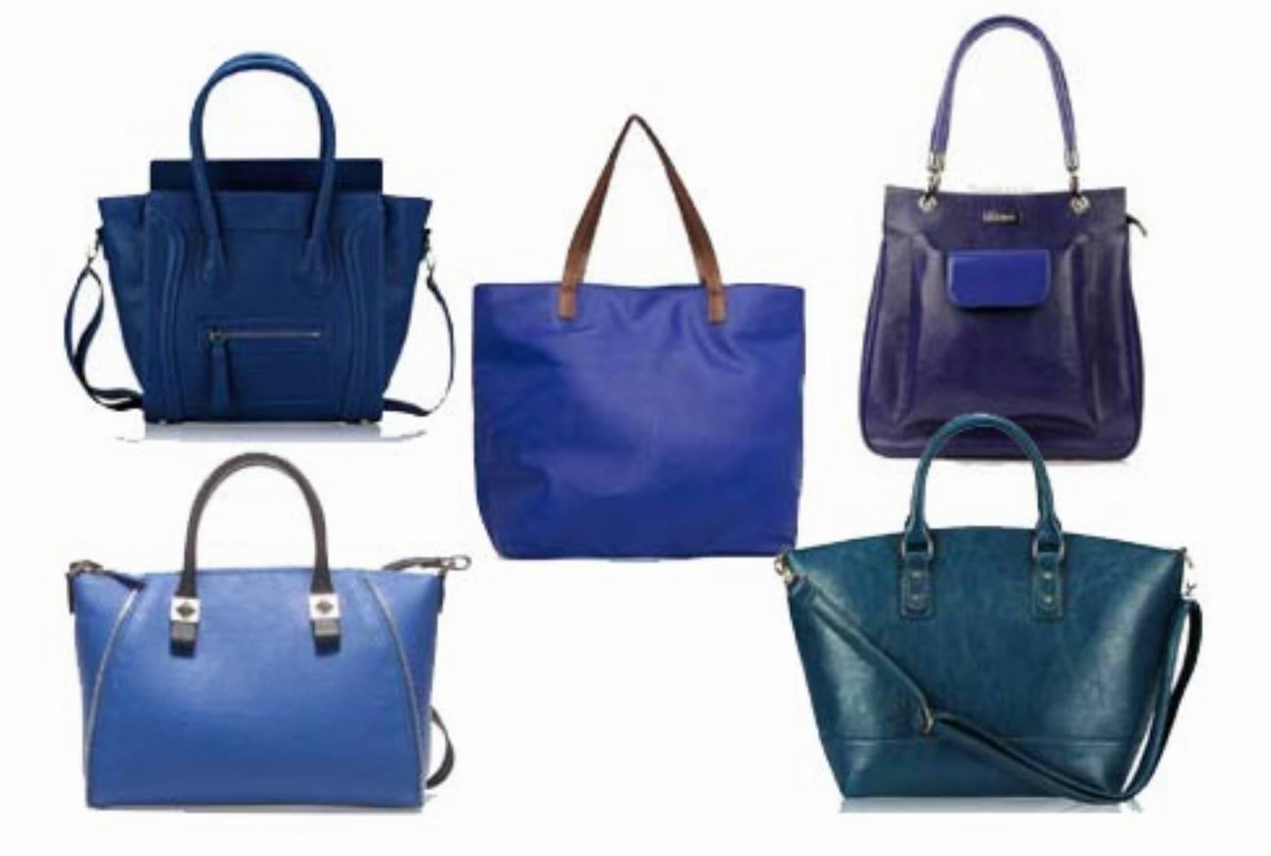 Niebieskie torby