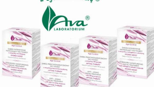 Professional Home SPA Age Control od Laboratorium Kosmetycznego AVA –  pierwsze profesjonalne zabiegi kosmetyczne w Twoim domu!