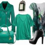 Zielen Emerald - stylizacje