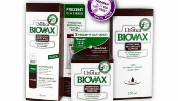 BIOVAX do włosów słabych ze skłonnością do wypadania: naturalna siła, intensywne odżywienie