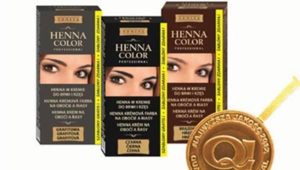 Venita: henna do brwi i rzęś