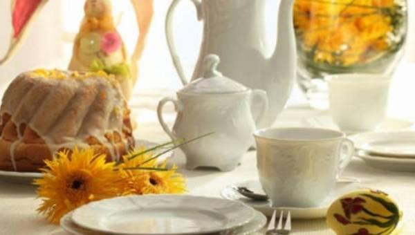 Wiosenne inspiracje na wielkanocnym stole