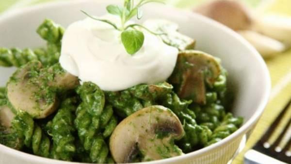 Makaron z sosem grzybowym, czyli nowe inspiracje Knorr