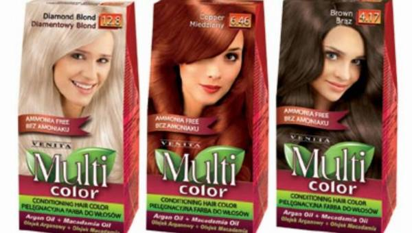 VENITA: Multi color – pielęgnacyjna farba do włosów!