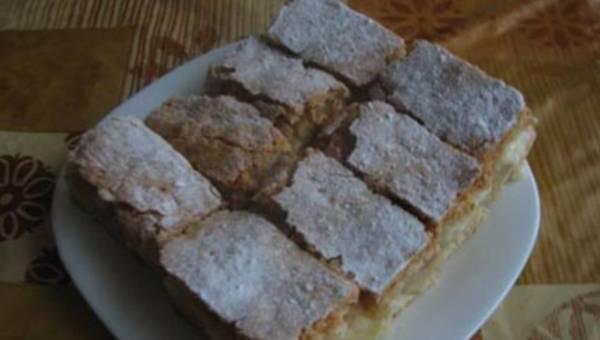 Wasze przepisy: Ciasto jabłkowo-budyniowe