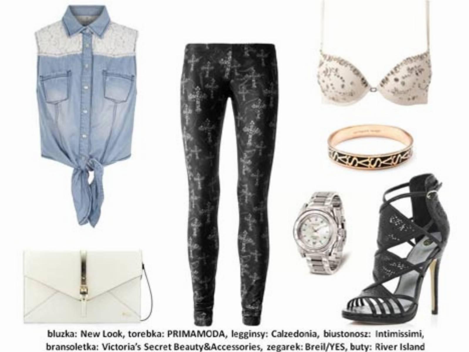 Moda na koronki - stylizacja (1)