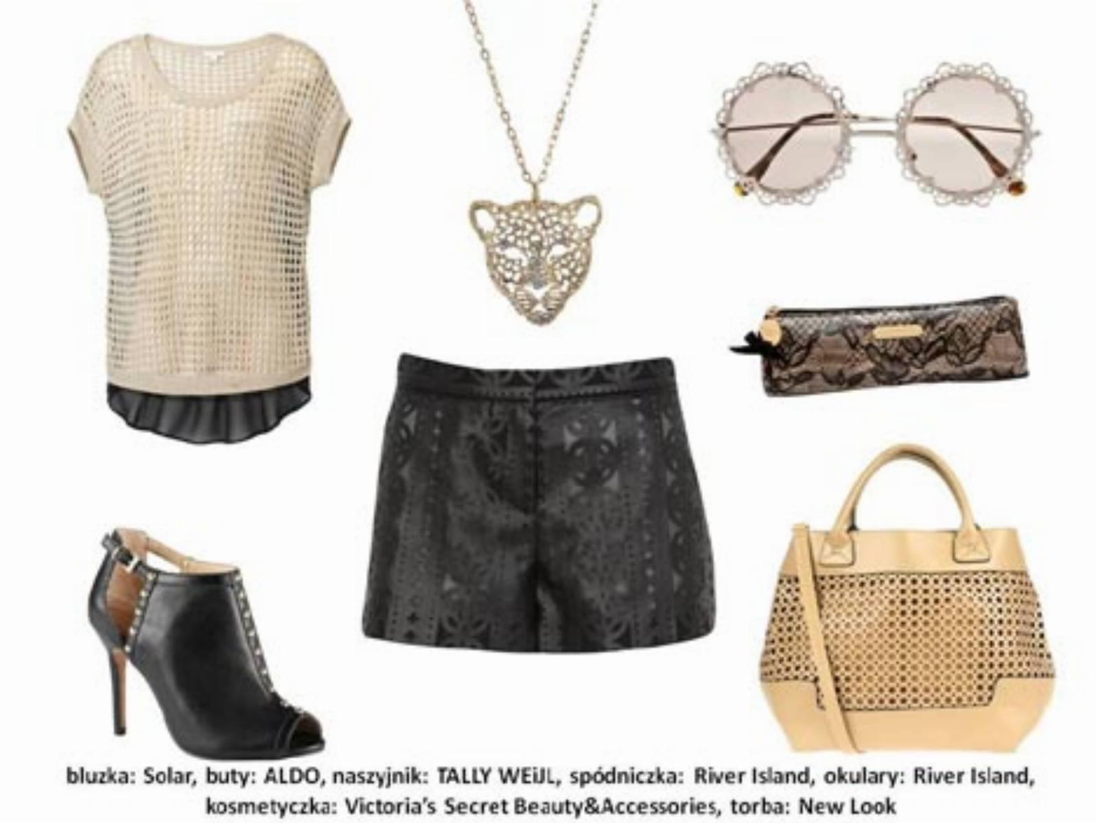Moda na koronki - stylizacja (2)