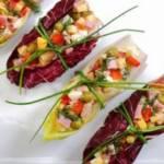 Salatka z szynka ik