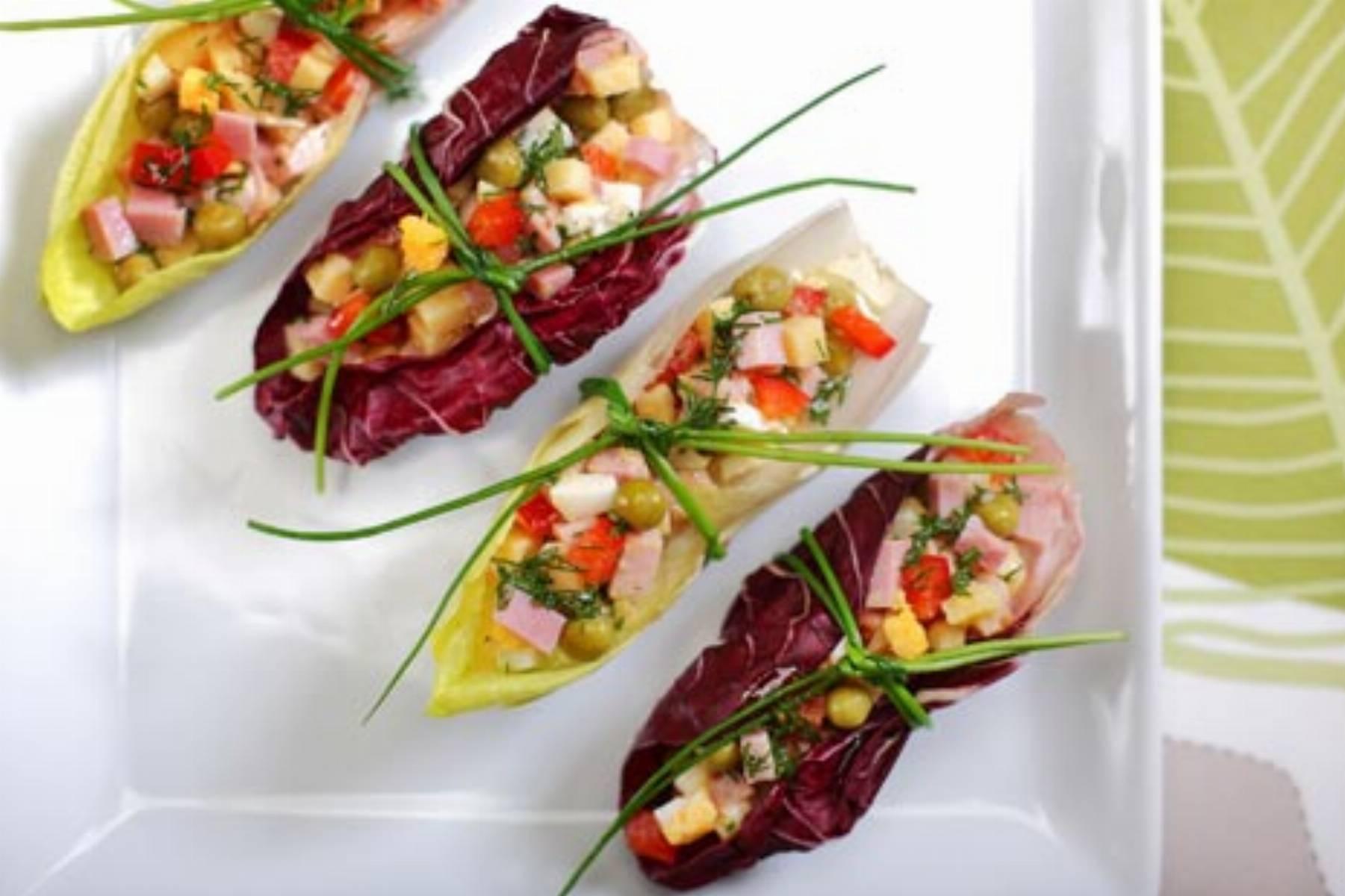 Salatka z szynka